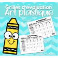 Grilles d'évaluation - Art plasitique