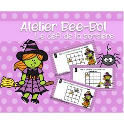 Atelier Bee-Bot- Le défi de la sorcière
