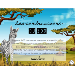 Les combinaisons du zoo