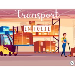 Transport en folie (fractions impropres)