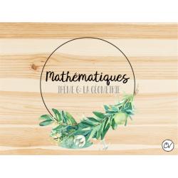 Enseignement SANS cahier MATH-Thème 6-Géométrie