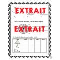Évaluation CONCEPTS - Mathématiques