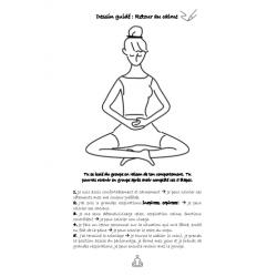 Retour calme - Coloriage guidé et yoga