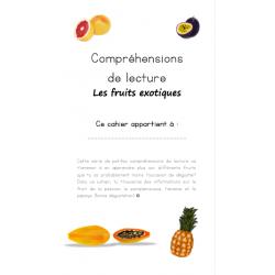 Compréhensions de lecture - Les fruits exotiques