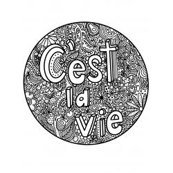 Mandala C'est la vie!
