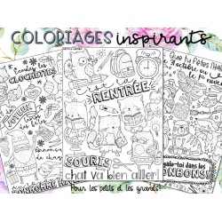 Coloriages inspirants (GROWING BUNDLE)