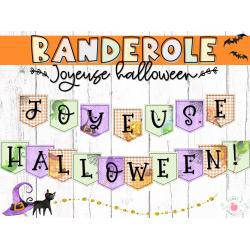 Banderole d'Halloween
