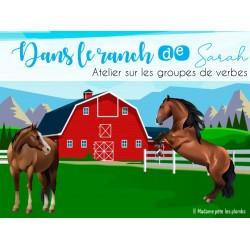Le ranch de Sarah - Groupes de verbes