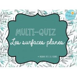 Multi-quiz Surfaces planes