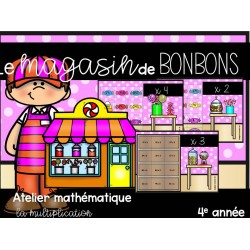 Le magasin de bonbons