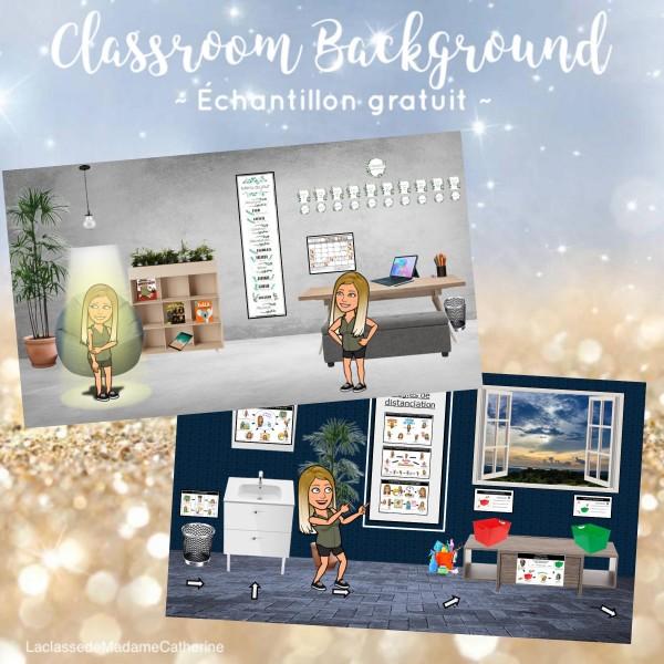 Bitmoji Classroom Decor - Échantillon gratuit (2)