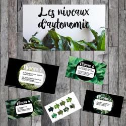 Niveaux d'autonomie - Thématique plantes