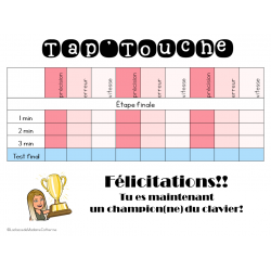 Outils techno - Tap'Touche (tableaux)