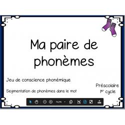 Ma paire de phonèmes
