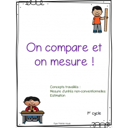 On mesure et on compare