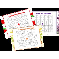 Le bingo des fractions