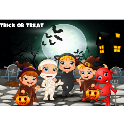 Trick or treat multiplicatif