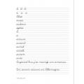 Mon cahier d'écriture cursive