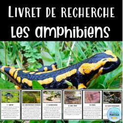 Livret de recherche animaux: Les amphibiens