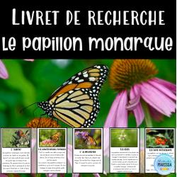 Livret de recherche animaux: Le papillon monarque