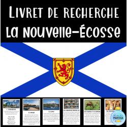 Livret de recherche Canada: La Nouvelle-Écosse