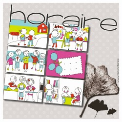 Horaire - planning