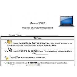 Mesure 30810 - Procédure