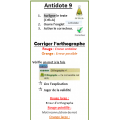 Antidote 9 - Procédure