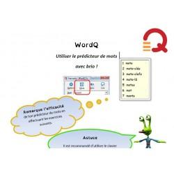 Word Q- Utiliser le prédicteur de mots avec brio