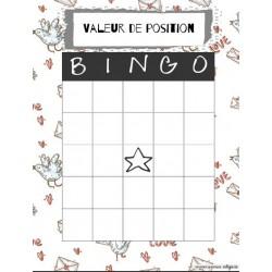 Bingo de numération 0 à 1000
