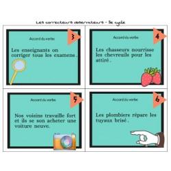 Les correcteurs observateurs – 2e et 3e cycle
