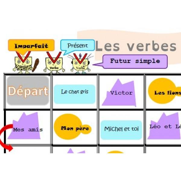 Jeu de conjugaison - Les verbes sont d'accord