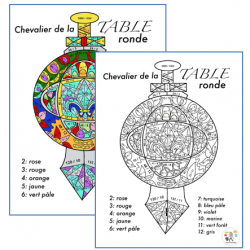 Chevalier de la TABLE ronde – Multiplications