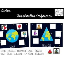 Atelier: Les planètes des formes