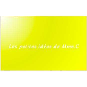 Les petites idées de Mme C