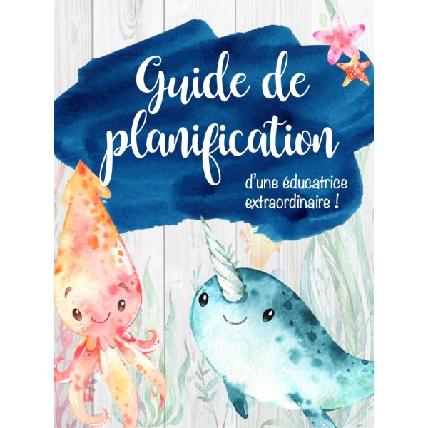Guide planification ÉDUCATRICE