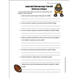 Questionnaire Laurent Duvernay-Tardif