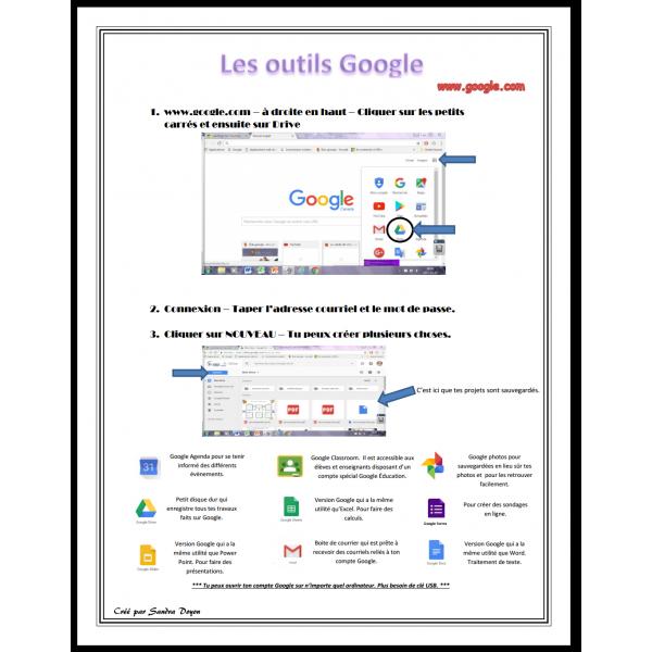 Les outils Google