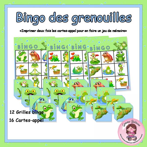 Bingo-Grenouille