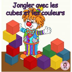 Jongler avec les cubes et les couleurs