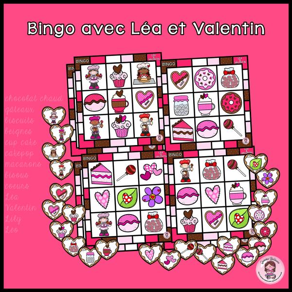 Bingo avec Léa et Valentin