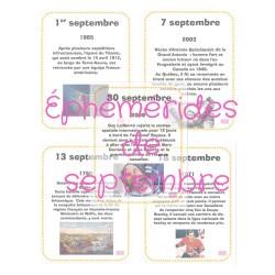 Éphémérides de septembre