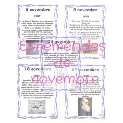 Éphémérides de novembre
