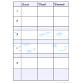 Planificateur primaire 5 périodes