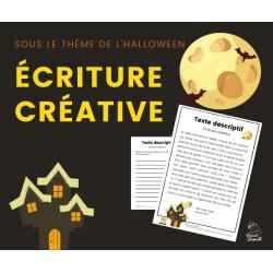Halloween - écriture créative-texte descriptif
