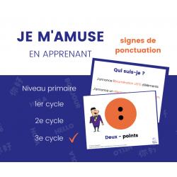 Signes de ponctuation - 3e cycle 22 affiches