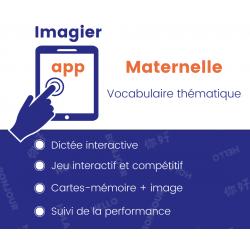 Vocabulaire thématique - Maternelle APP