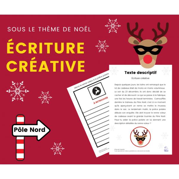 Situation d'écriture - Écriture créative Noël