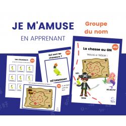 JEU de grammaire - Groupe du nom