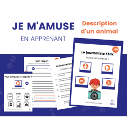 JEU de description - Décrire un animal